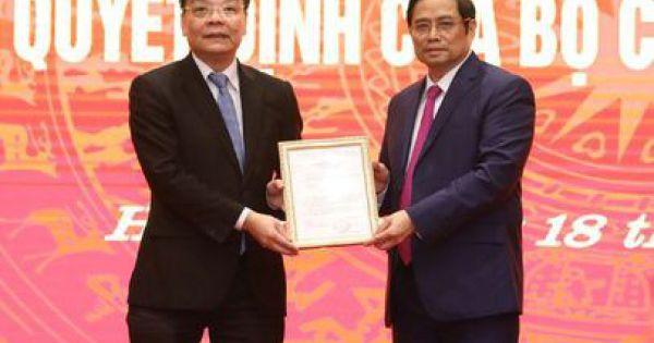 Hà Nội có Phó bí thư Thành ủy mới là Bộ trưởng Bộ Khoa học và Công nghệ Chu Ngọc Anh