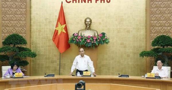 Thủ tướng Nguyễn Xuân Phúc chủ trì cuộc họp Hội đồng Thi đua - Khen thưởng Trung ương