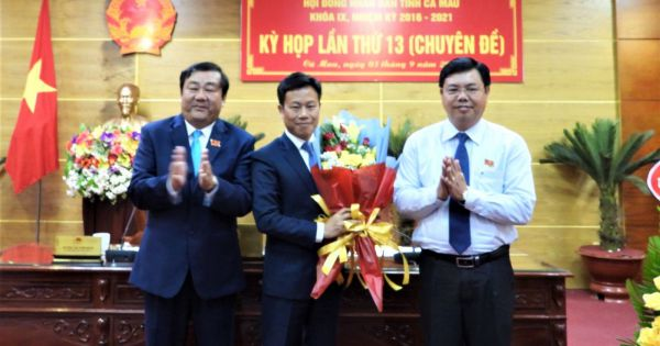 Thủ tướng phê chuẩn kết quả bầu Chủ tịch UBND tỉnh Cà Mau