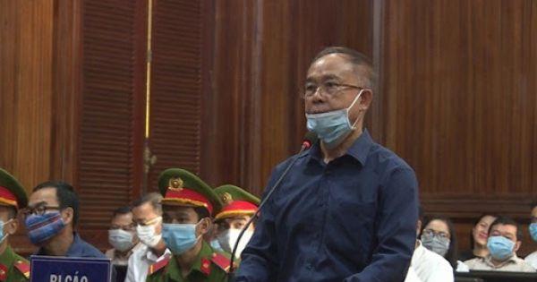 Cựu Phó Chủ tịch UBND TP.HCM Nguyễn Thành Tài bật khóc khi nói lời sau cùng
