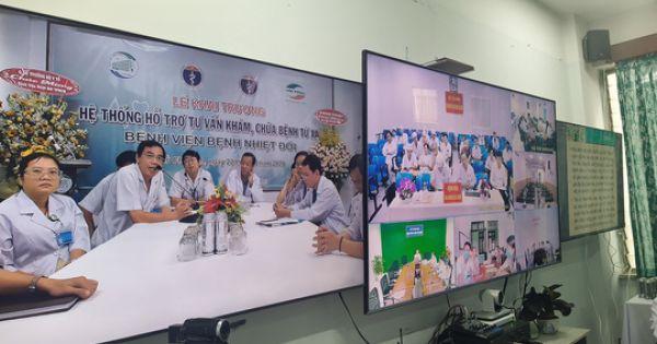 BV Bệnh Nhiệt đới TP HCM mở trung tâm hỗ trợ khẩn cấp 24/24