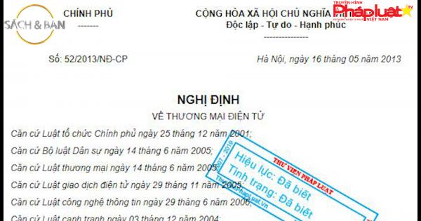 Toàn cảnh hệ thống pháp lý Việt Nam quy định như thế nào đối với giao dịch mua bán trên sàn thương mại điện tử