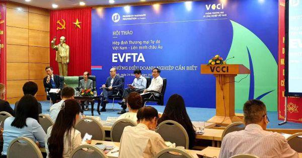 Doanh nghiệp cùng nhập cuộc với EVFTA