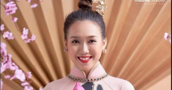 Nhan sắc nổi bật của MC Truyền hình Pháp luật tại dàn thí sinh Hoa hậu Việt Nam 2020