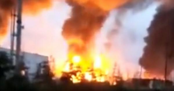 5 người chết trong vụ nổ khủng khiếp ở nhà máy hóa chất Trung Quốc