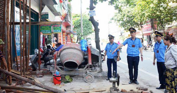Hà Nội: Đề xuất nâng mức tiền phạt với hành vi vi phạm trong lĩnh vực xây dựng