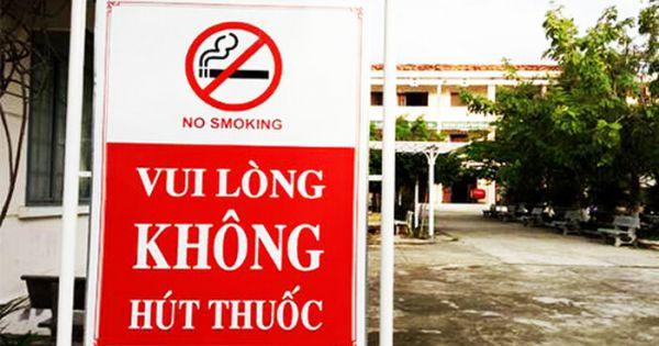 Từ 15/11, hút thuốc lá tại địa điểm có quy định cấm có thể bị phạt tới 500.000 đồng
