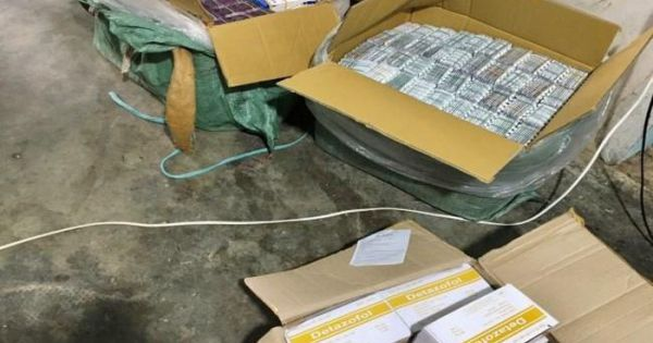 Bắt giữ gần 10.000 đơn vị thuốc tân dược xuất lậu