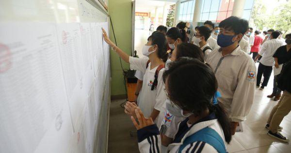 TP.HCM: Điểm chuẩn của nhiều trường đại học tăng từ 1-3 điểm