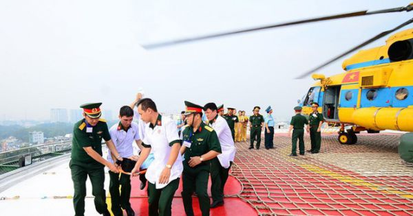 Tính toán giải pháp triển khai cấp cứu bằng ca nô, trực thăng tại TP HCM