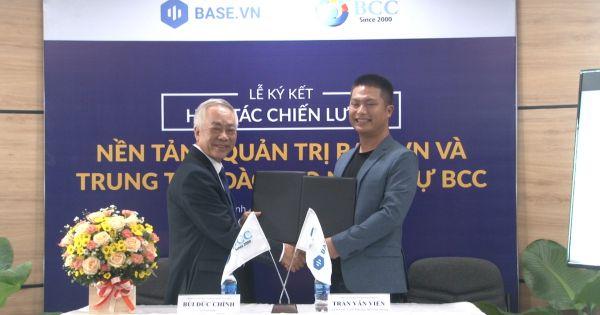 Công ty Cổ phần Nhân lực BCC ký hợp tác chiến lược với Base.vn