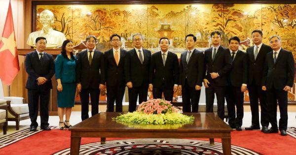 Nhật Bản là đối tác kinh tế quan trọng bậc nhất của Hà Nội