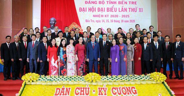 Đại hội Đảng bộ tỉnh Bến Tre nhiệm kỳ 2020 - 2025