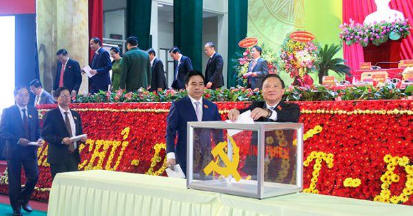 Đại hội Đại biểu Đảng bộ nhiều tỉnh, đã bầu thành công Bí thư Tỉnh ủy nhiệm kỳ 2020-2025.