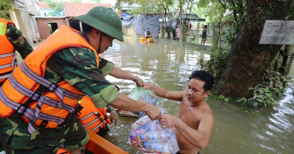 Thủ tướng: Cấp gạo hỗ trợ cứu đói nhân dân 4 tỉnh miền Trung