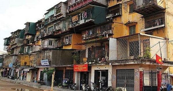 Hà Nội khẩn trương rà soát hiện trạng nhà chung cư cũ nguy hiểm