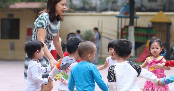 Cả nước thiếu hơn 45.000 giáo viên mầm non công lập