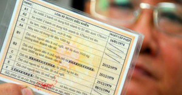 Đề nghị tước giấy phép lái xe vĩnh viễn đối với tài xế sử dụng ma túy
