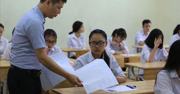 Bộ Giáo dục chốt phương án tổ chức kỳ thi tốt nghiệp THPT năm 2021
