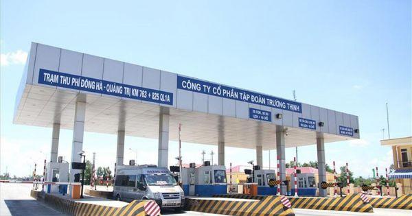 Quảng Trị: Tập đoàn Trường Thịnh tạm dừng thu phí đường bộ đoạn qua xã Triệu Giang đối với phương tiện chở hàng hóa cứu trợ