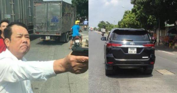 Bắc Ninh sắp xét xử lưu động giám đốc rút súng dọa bắn tài xế xe tải