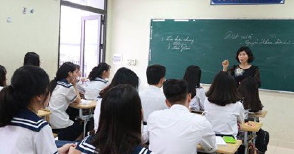 Giáo viên sẽ có mức lương mới cao hơn