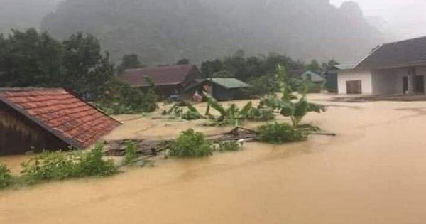 Hà Tĩnh 6 người thiệt mạng và 118 xã bị ngập do mưa lũ, thiệt hại hết sức nặng nề