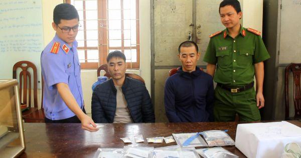 Nghệ An: Buôn ma túy giao dịch từ Châu u về Việt Nam
