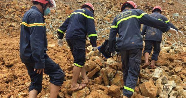 Tìm thấy thi thể nạn nhân thứ 5 ở khu vực sạt lở thủy điện Rào Trăng 3