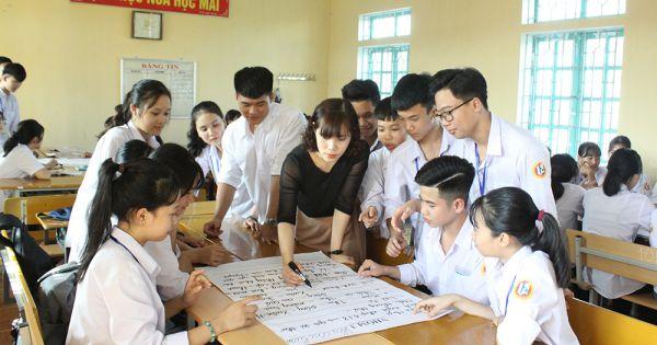 Khuyến khích học sinh làm dự án học tập thay thế bài kiểm tra ở môn ngoại ngữ, tin học