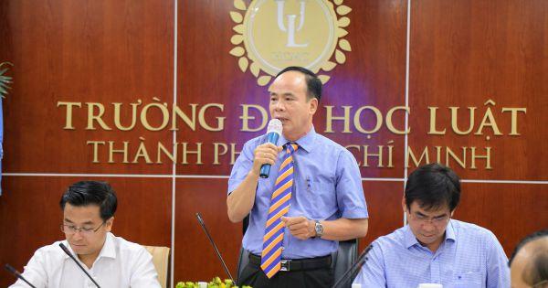 Trường ĐH Luật TP. HCM tổng kết đề án xây dựng trường trọng điểm đào tạo cán bộ về pháp luật