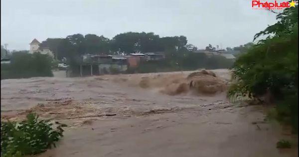 Cập nhật Bão số 9 tại Tây Nguyên: Mưa lớn, Gió giật mạnh, Nước sông dâng cao