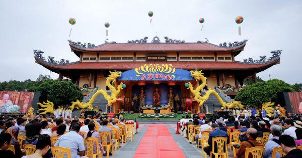 Quảng Ninh: Lễ hội hoa cúc chùa Ba Vàng 2020 - Vì miền Trung thân yêu