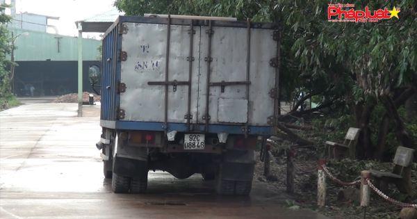 Quảng Nam: Người dân bắt tận tay Công ty tinh bột sắn FOCOCEV chở lén chất thải từ nơi khác về tập kết