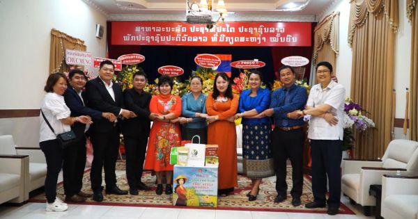 Chúc Tết Tổng Lãnh sự quán các nước Lào, Thái Lan, Campuchia tại TP.HCM
