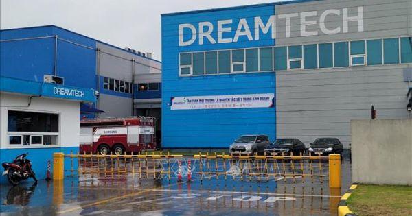 Bắc Ninh:Cháy xưởng sản xuất, ba công nhân tử vong