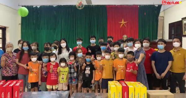 Thăm và tặng quà Trung thu tại Trung tâm nuôi dưỡng trẻ mồ côi Hà Cầu