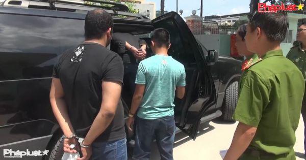 Bắt 2 nghi can nước ngoài cướp xe Grabbike