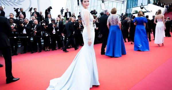 Công chúa Lý Nhã Kỳ khoe vẻ đài các trên thảm đỏ LHP Cannes