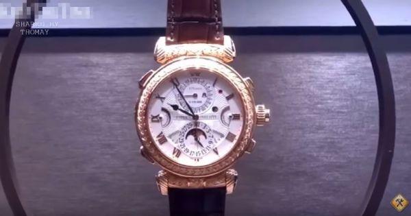 Cận cảnh ráp chiếc đồng hồ 60 tỷ, đại gia VN nào dám chơi hàng này ?