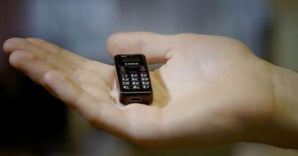 Đây là chiếc điện thoại Zanco T11 nhỏ nhất thế giới, thật khó tin nó lại có thể nhỏ tới vậy