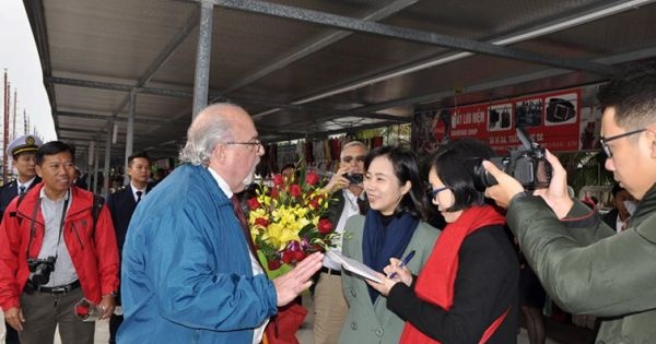 Đón 15.000 khách quốc tế đến vịnh Hạ Long trong ngày đầu tiên của năm 2018