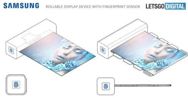 Samsung tạo đột phá cho màn hình cuộn tròn