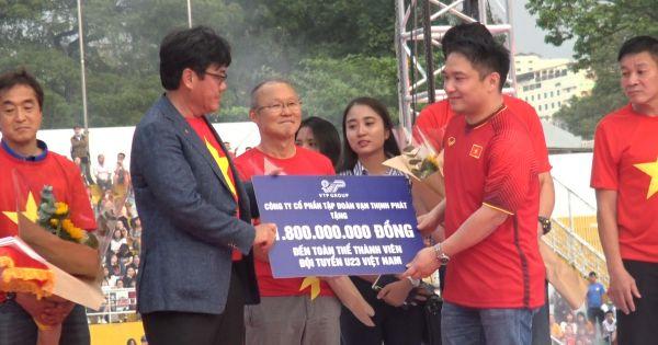 Chốt tiền thưởng cho U23 Việt Nam: Xuân Trường nhận 1,8 tỷ đồng
