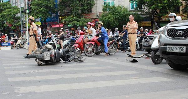 Việt Nam mất khoảng 130 tỉ USD chi phí cho tai nạn giao thông trong 15 năm