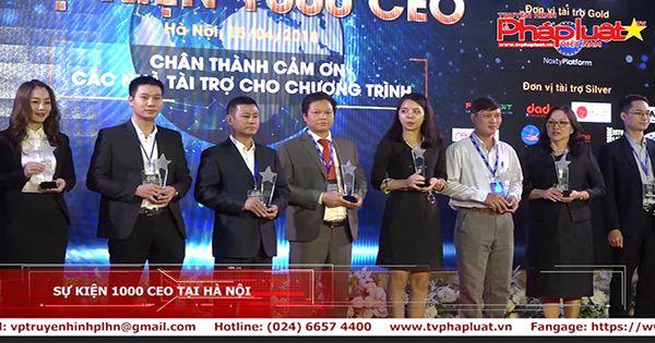 Sự kiện 1000 CEO tại Hà Nội