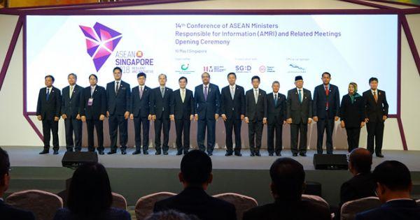 Hội nghị bộ trưởng thông tin Asean tổ chức chính thức tại Singapore