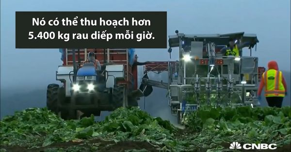"""Những cỗ máy làm """"trợ thủ"""" đắc lực cho nông dân thế giới"""