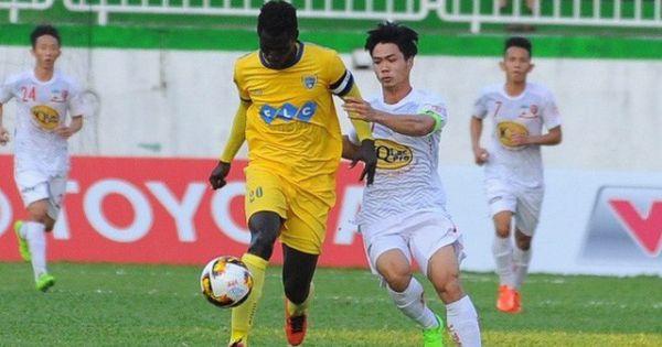 Hoàng Anh Gia Lai vượt qua Thanh Hóa FC nhờ siêu phẩm của Công Phượng