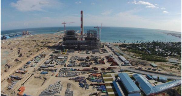 Bộ trưởng TN-MT đồng tình dùng chất thải nhiệt điện Vĩnh Tân để lấn biển
